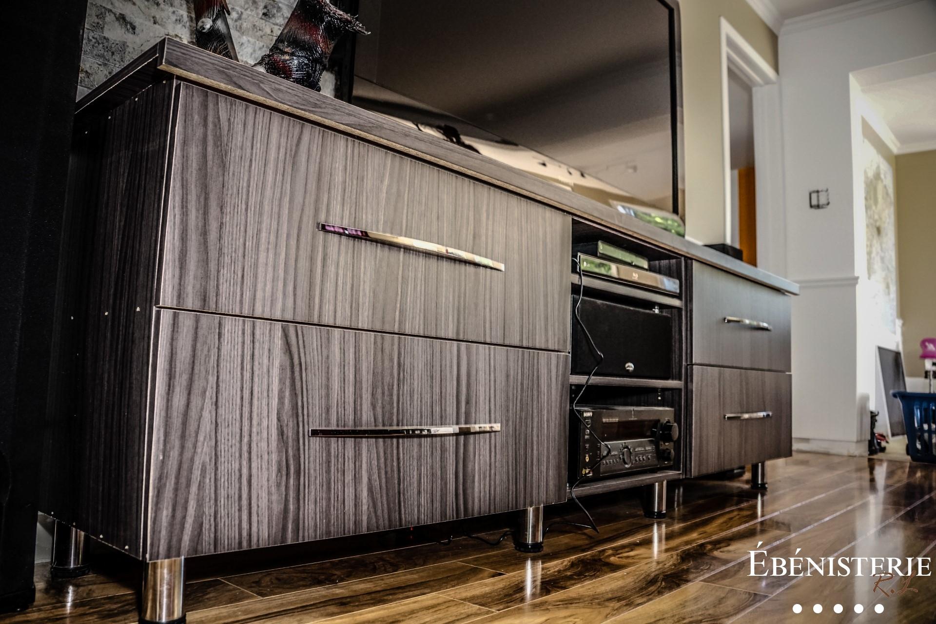 Meuble Sur Mesure Salon meuble sur mesure - ebénisterie rl